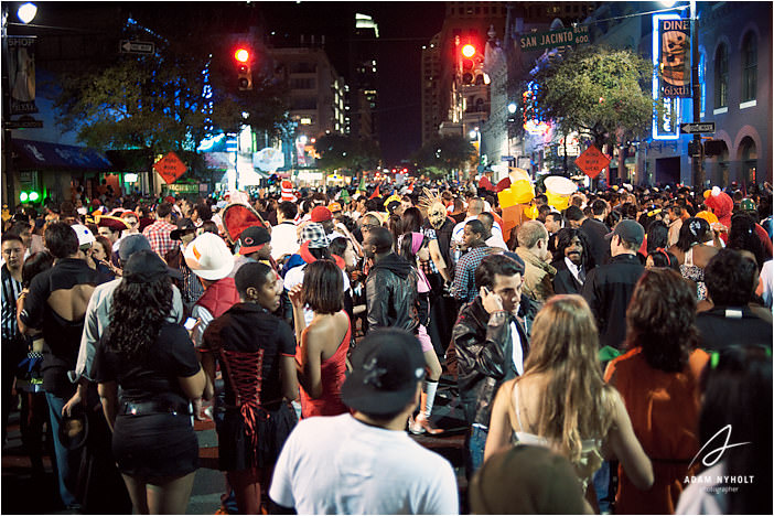 Halloween on 6th Street | Adam Nyholt, Photographer