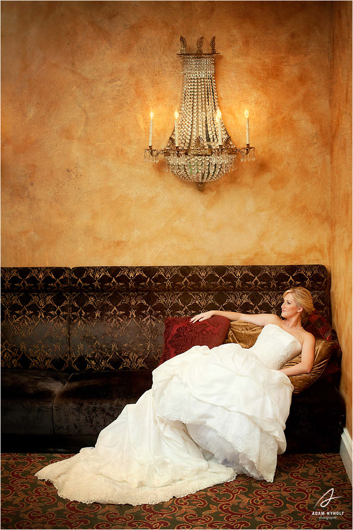 Courtney S Bridal Portraits Crystal Ballroom At The Post